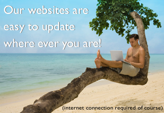 easy to update websites